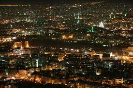 DamascusBy night